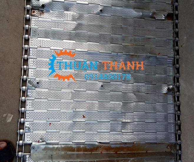 Băng tải xích tấm inox 304